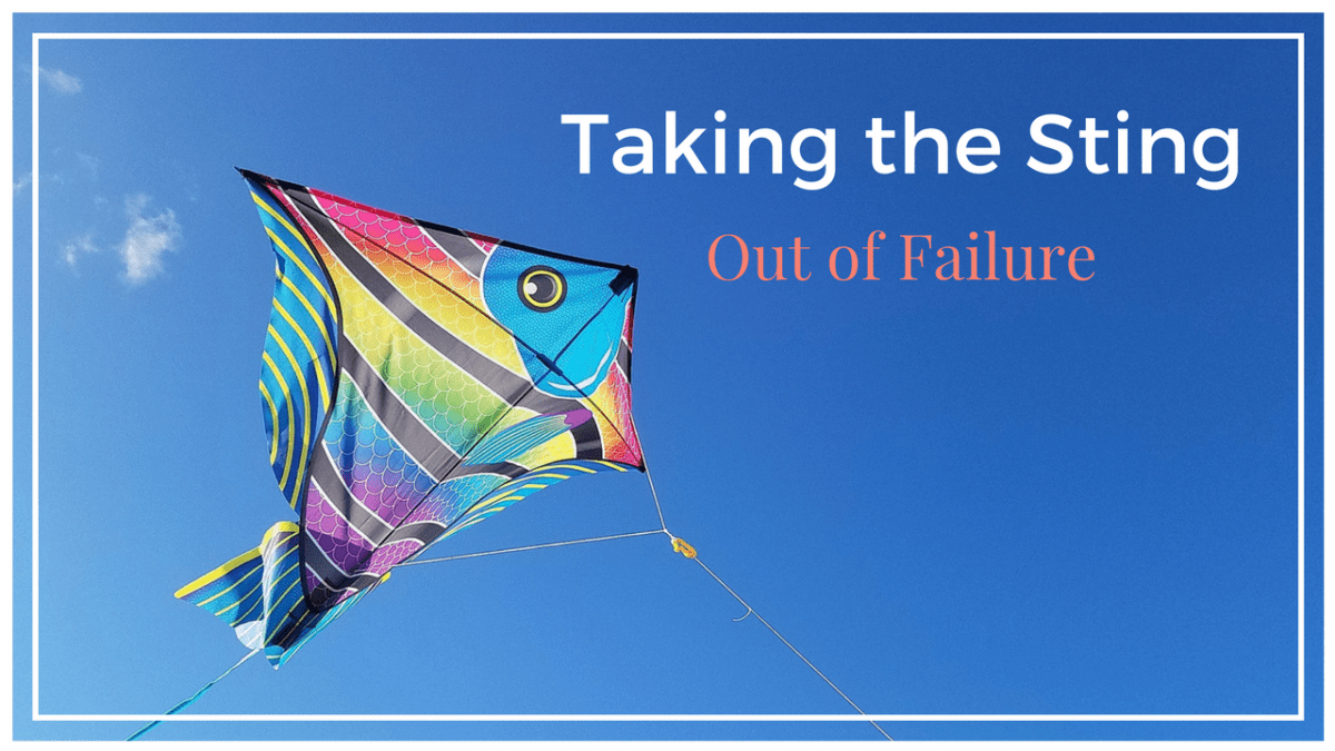 Taking the Sting Out: Steps to Counter Feelings of Failure Before You Even Start