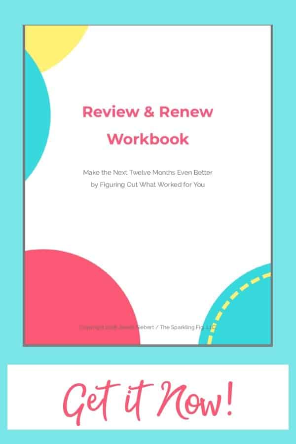 Click Here to Make the Next 12 Months Easier & Better with Jewell Siebert's Review & Renew Workbook! Be more Happy, Successful & Fulfilled!